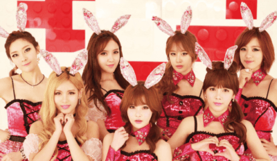 t ara bunny style