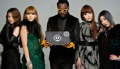 2NE1++WILL.I.AM 2