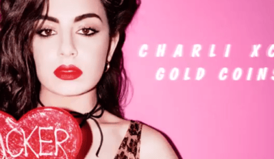 charli xcx gold coins