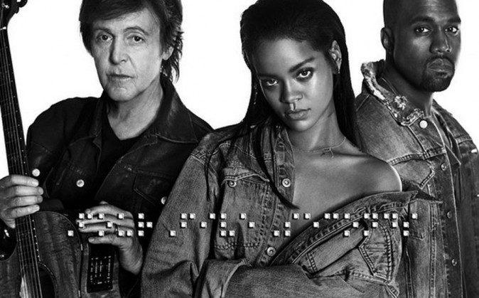 Rihanna ecoutez son nouveau tube Four Five Seconds en duo avec Kanye West portrait w674