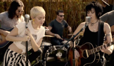 miley cyrus joan jett different happy hippie presents backyard sessions