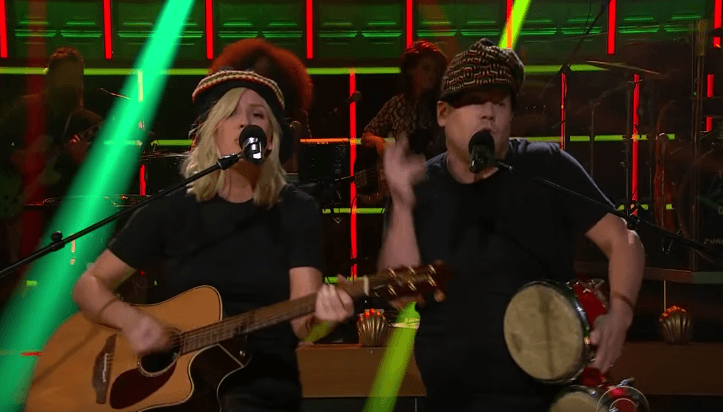 ellie goulding james corden love me like you do
