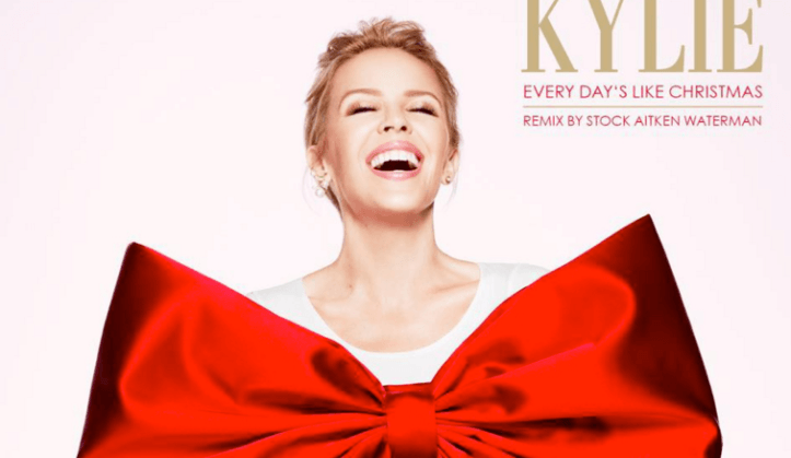 kylie minogue every days like christmas