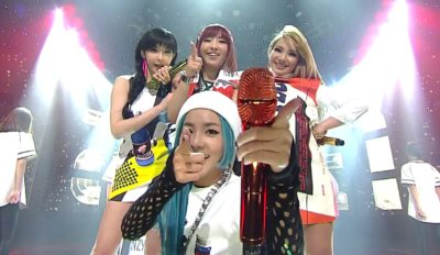 2ne1 gotta be you inkigayo