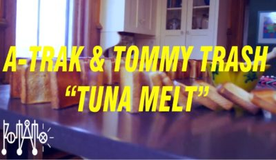 a trak tommy trash tuna melt