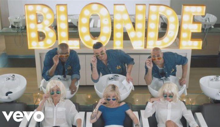 alizee blonde video