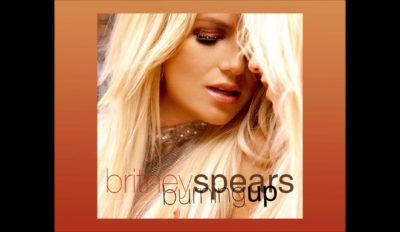 britney spears burning up