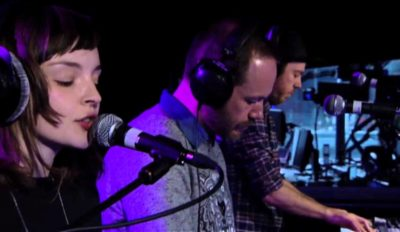 chvrches team live lounge