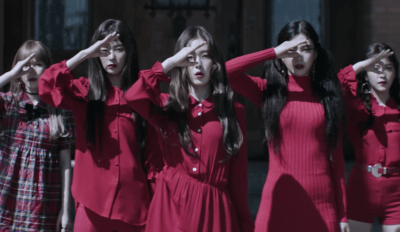red velvet peek a boo