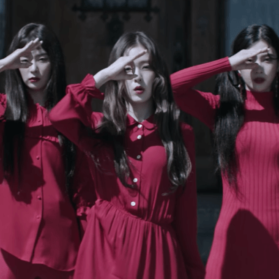 Red Velvet Peek-A-Boo