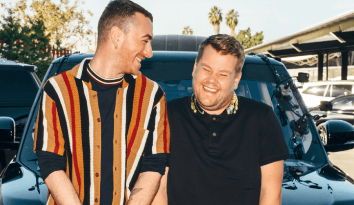 sam smith carpool karaoke